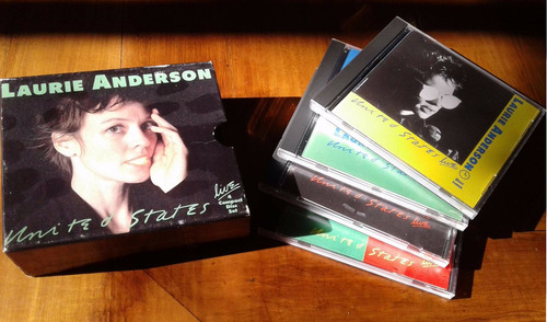 laurie anderson usa live box 4 cds