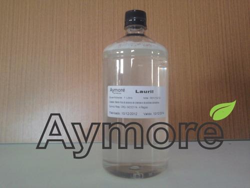 lauril liquido 1 litro - para espumar mais seus sabonetes
