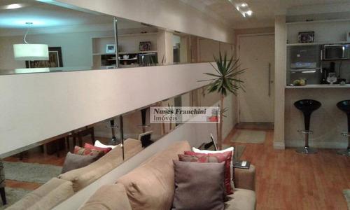 lauzane paulista zn/sp - apartamento 118m², 3 dormitórios, 1 suíte, 2 vagas - r$ 790.000,00 - ap7229