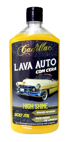 lava auto com cera high shine cadillac - 500ml