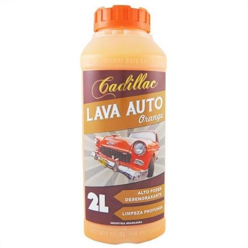 lava auto orange cadillac - 2l