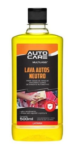lava autos multilaser neutro autocare au452 500ml