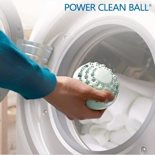 ¡lava con ecobola de lavado clean ballz! para lavadora