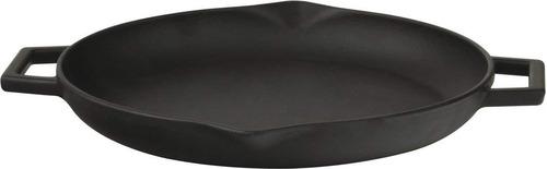 lava firma de hierro fundido para freír / parrilla pan con