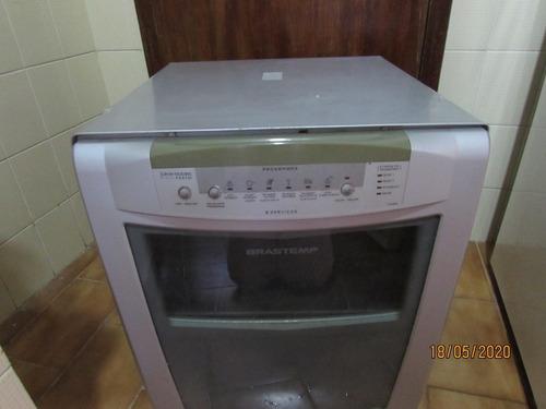 lava louças 8 serviços brastemp compacta prata