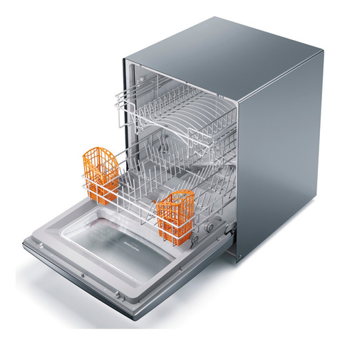 lava louças 8 serviços brastemp compacta prata blf08as
