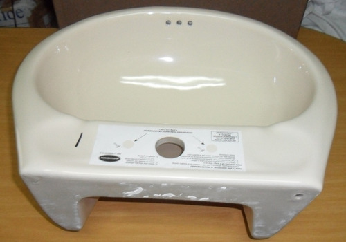 lava manos tipo aereo sin pedestal crema venceramica hogar