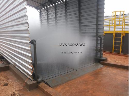 lava rodas e chassi com 95% de reaproveitamento de agua