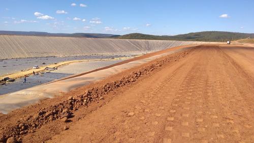 lava rodas e pneus de rejeitos de mineração
