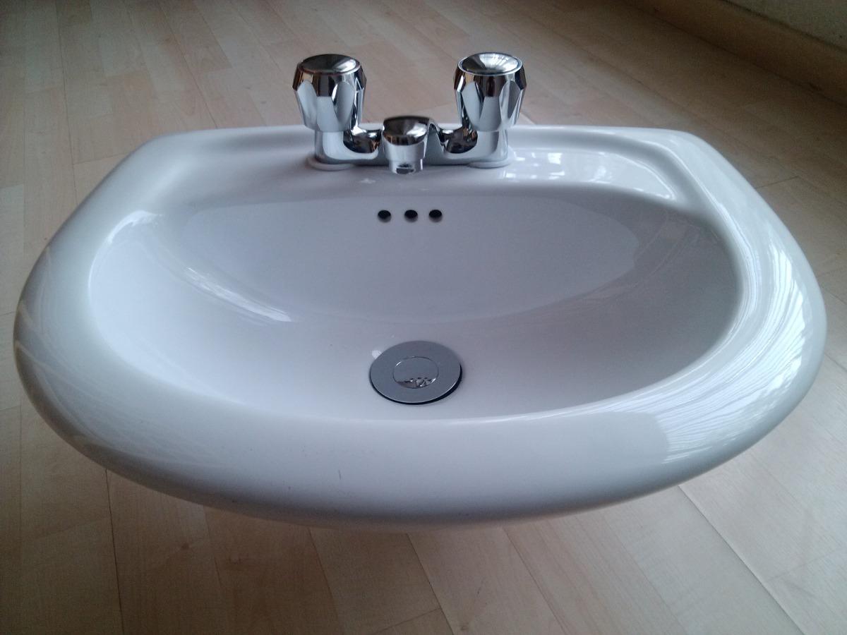 Lavabo blanco oferta ceramica alta temp acabado for Oferta lavabos