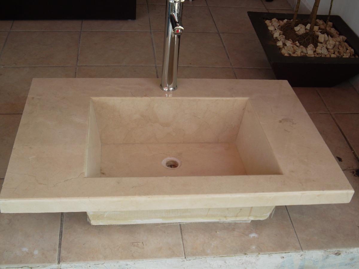 Lavabo de marmol crema marfil 3 en mercado libre - Precio de marmol ...