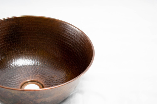 lavabo (lavamanos) redondo vessel de cobre º (cr)