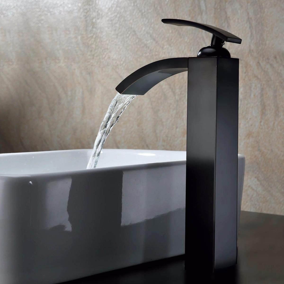 Llave ba o ba era lavabo estilo cascada monomando for Llaves para lavabo antiguas