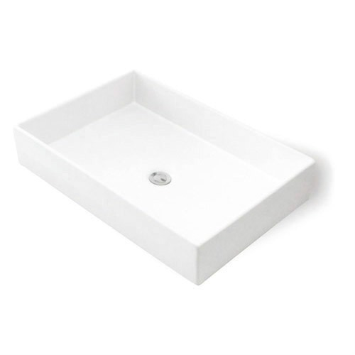 Lavabo ovalin minimalista san marino blanco 1 for Lavabo minimalista