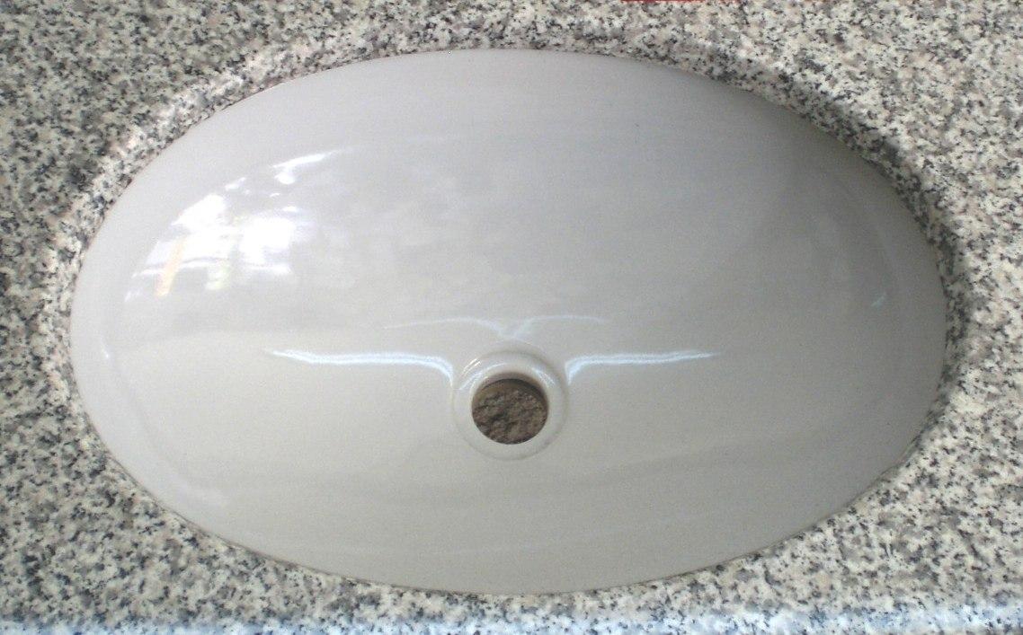 Lavabo ovalin submontar bajo cubierta clasico standard - Baldas para bajo lavabo ...