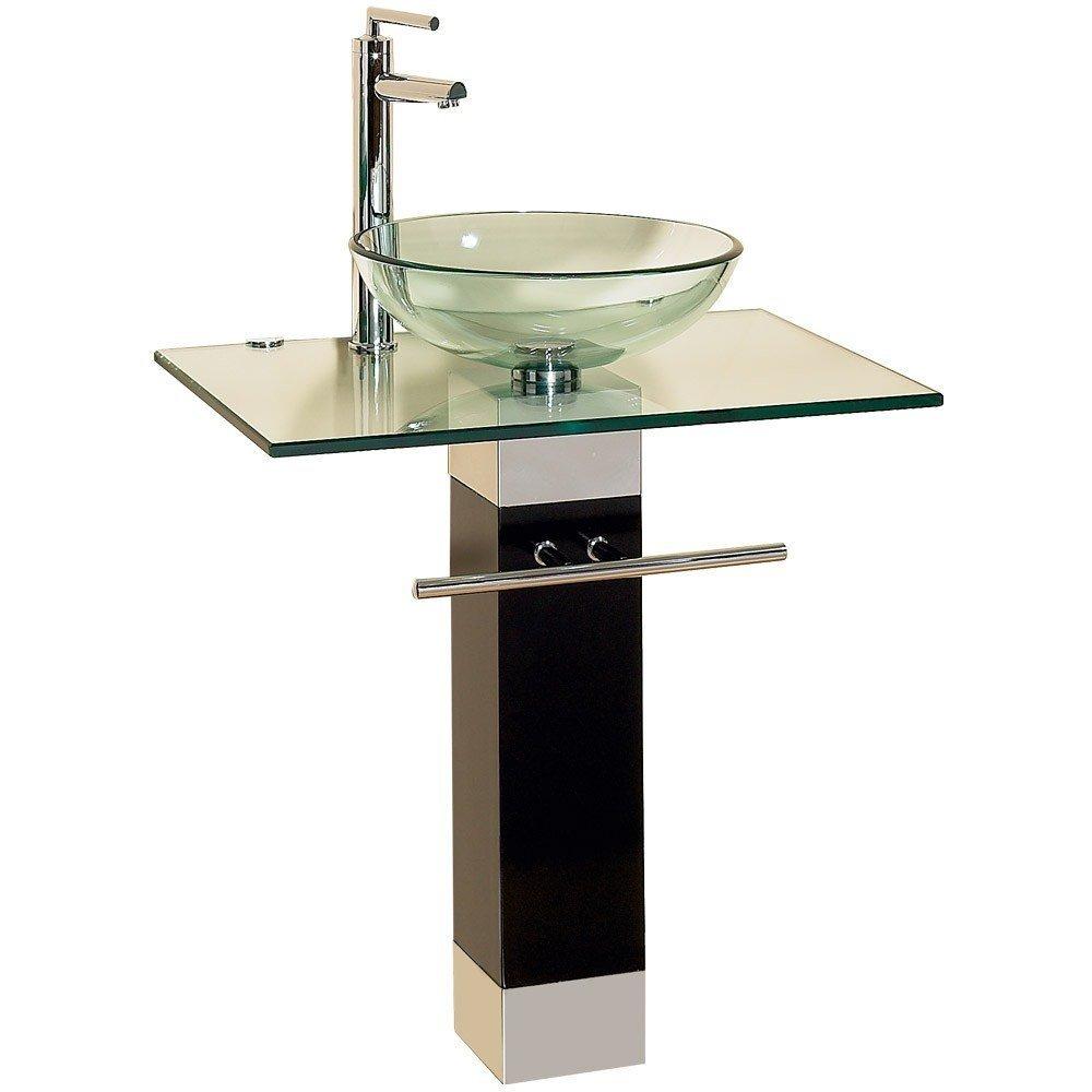 Lavabo para ba o cristal templado contemporaneo hm4 for Compra de lavabos