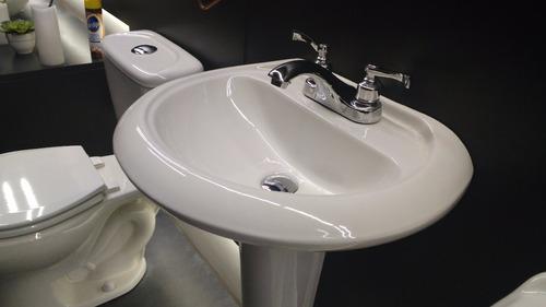 lavabo y pedestal dinastía color blanco c / envío