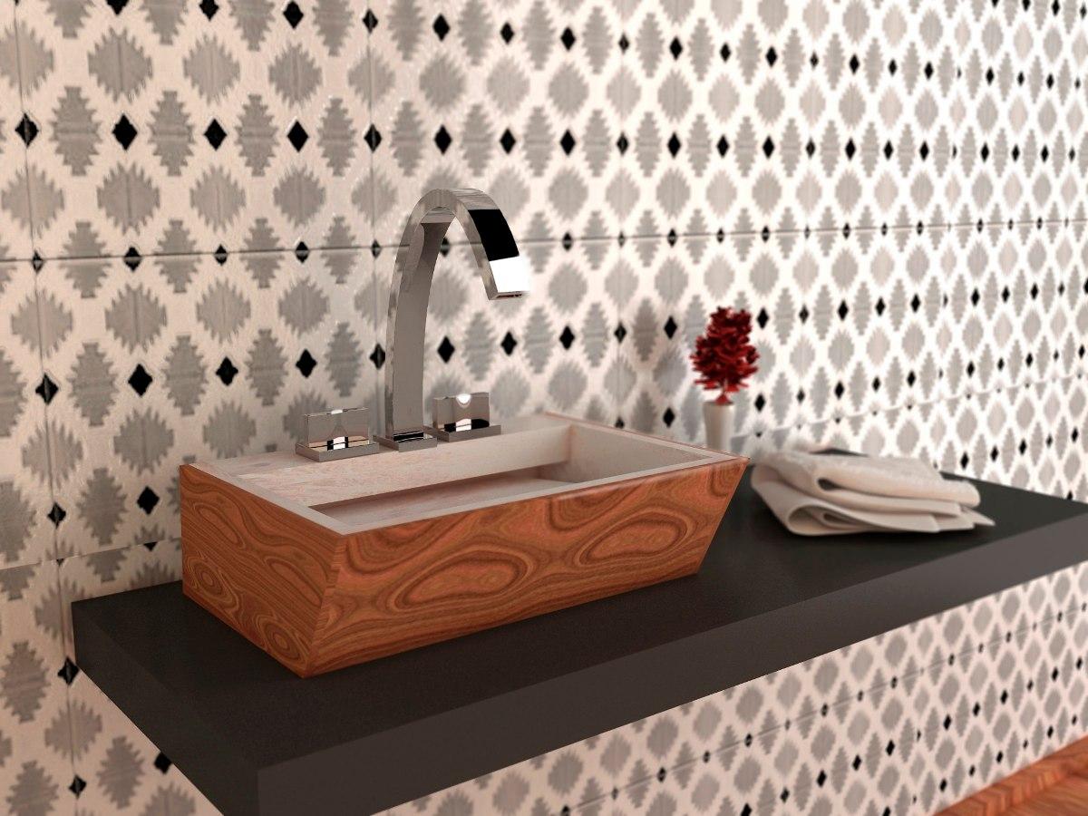 Lavabos ovalines modernos marmol madera peque os for Marmol color madera