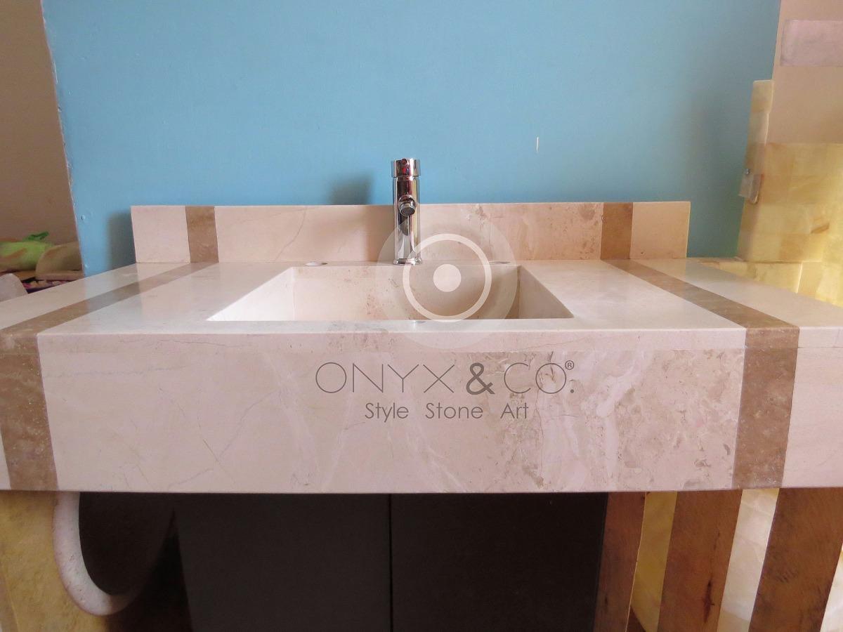 Lavabos para ba os de marmol moderna minimalista 3 900 for Marmol para banos precios