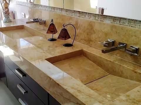 Lavabos y ovalines para ba o fabricamos sobre dise o - Lavabos de marmol para bano ...