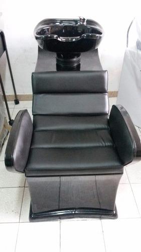 lavacabeza premium peluquerías, llaves agua fria y caliente
