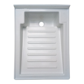 Lavadero 50cm X 42 Cm Plástico Con Válvula