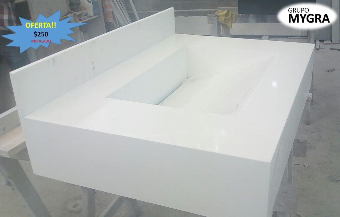 Lavadero ba os de granito cuarzo marmol s 90 00 en for Lavadero de bano precio