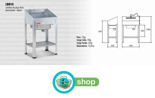 lavadero de piezas desmontable cmb lbd10 con bomba