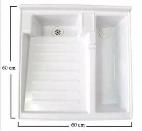 lavadero plástico con poceta 60x60 gratis  envío