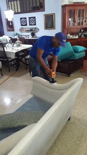 lavado a domicilio de muebles con humedad en rd 809-273-7599