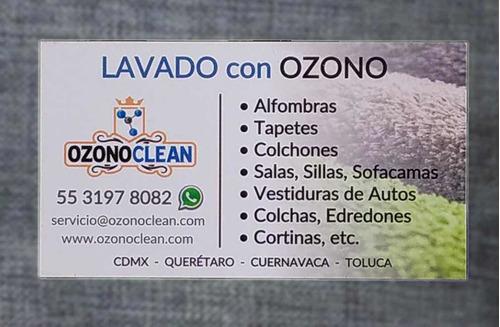 lavado con ozono