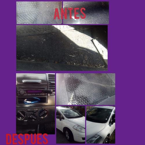 lavado de autos y tapicerias colchones y alfombras