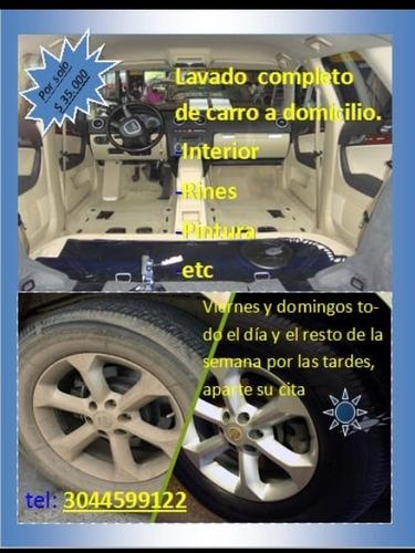 lavado de carro a domicilio (en valledupar) aparte su cita