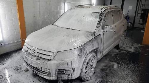 lavado de carroceria + desinfeccion mediante ozono
