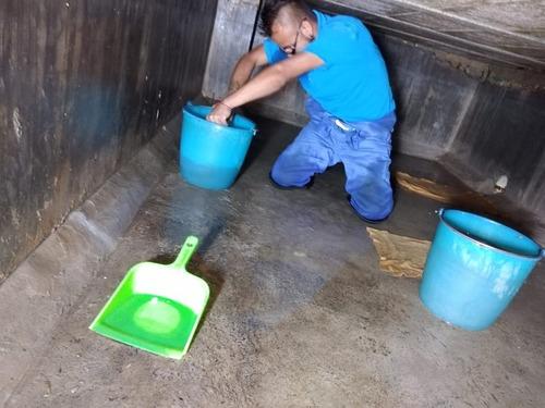lavado de tinacos, cisternas y tanques elevados en cdmx