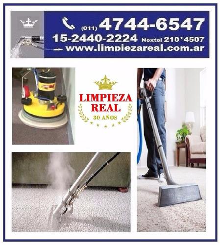 lavado+limpieza+desinfeccion alfombras sillones tapizados