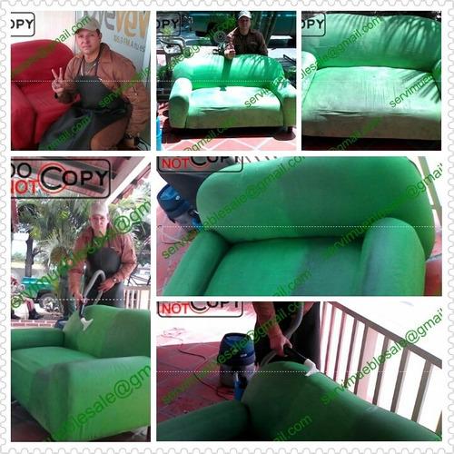 lavado limpieza muebles alfombra sillas a domicilio al seco