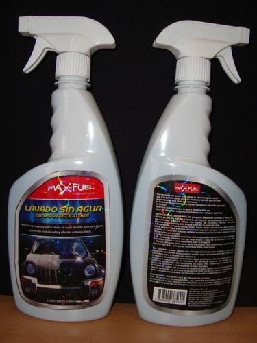 lavado sin agua ecológico con  filtro solar uva, no silicona