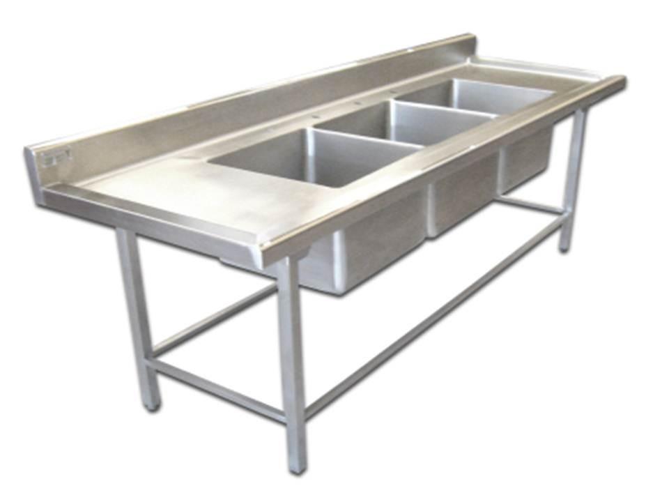 Lavado tarja ollas tpl mts mesa inoxidable 16 450 for Ollas para cocina industrial