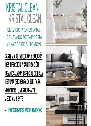 lavado y desinfectado de tapicería en general y automovil