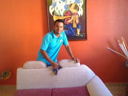 lavado y limpieza de muebles, alfombras domicilio roberto