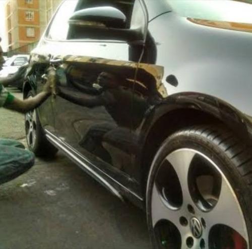 lavado y pulido de autos a domicilio!!