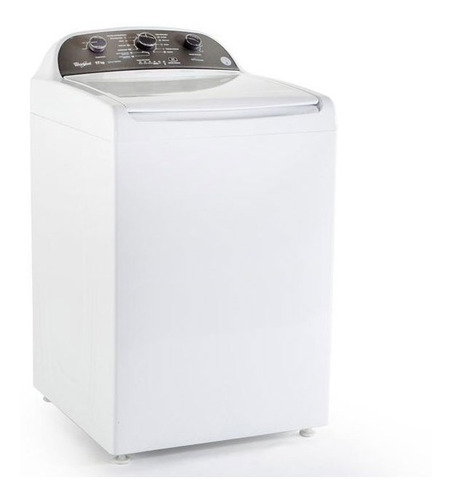 lavadora 17kg acero inoxidable blanco 8mwtw-1725cg whirlpool