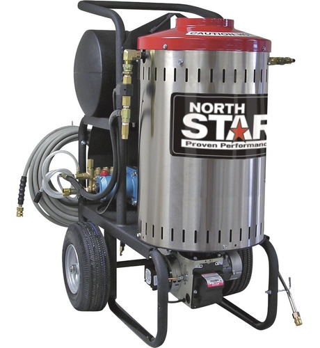 lavadora a presion hidrolavadora agua caliente caldera 2000p