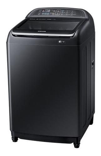 lavadora active dual wash 15kgs black edition wa15j5750lv/pe