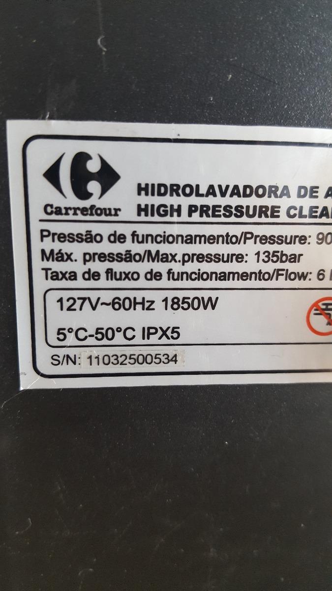 Lavadora alta pressao carrefour 1960psi 110v revisada r for Mueble lavadora carrefour