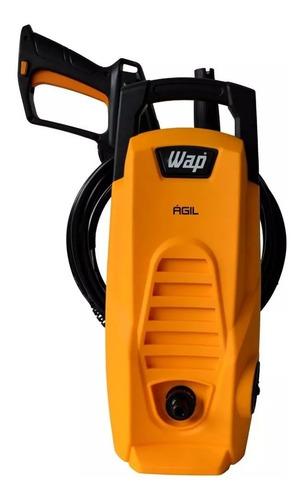 lavadora alta pressão 1300psi agil 1800 wap vap + escova