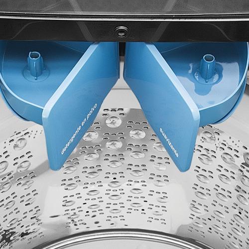lavadora automática 18 kg diamond gray mabe - lmc78100wdab0