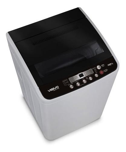 lavadora automática 19 libras visivo vawm-85 black series