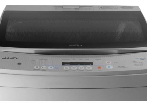 lavadora automática abba 41.8 libras 19 kl wm190 a gris